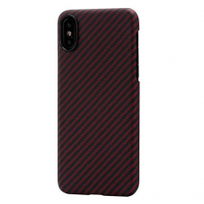 Чехол Pitaka MagCase для Apple iPhone X, черный/красный, фото 1