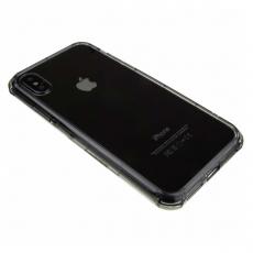 Бампер Rock FencePro Series для iPhone X, прозрачный чёрный, фото 1