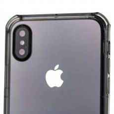 Бампер Rock FencePro Series для iPhone X, прозрачный чёрный, фото 3