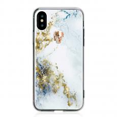 Чехол Bling My Thing Tresure Unicorn Gold Skull для iPhone X, белый, фото 1