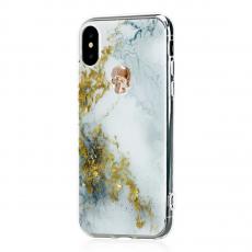 Чехол Bling My Thing Tresure Unicorn Gold Skull для iPhone X, белый, фото 3