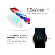 Беспроводное зарядное устройство Momax Q.Pad X Ultra Slim Wireless Charger, чёрный, фото 4