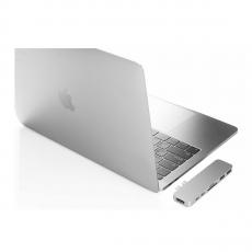 Хаб HyperDrive, с USB-C, серебристый, фото 3