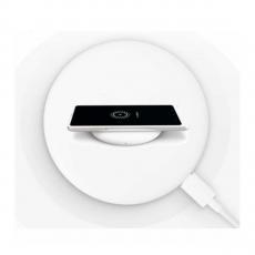 Беспроводное зарядное устройство Xiaomi Wireless Charger, белое, фото 2