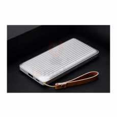 Внешний аккумулятор Rock Evo, USB-A, 2 USB-C, 10000 mAh, серебристый, фото 2