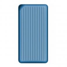 Внешний аккумулятор Rock Evo, USB-A, 2 USB-C, 10000 mAh, синий, фото 1