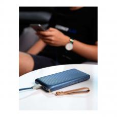 Внешний аккумулятор Rock Evo, USB-A, 2 USB-C, 10000 mAh, синий, фото 2