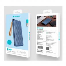 Внешний аккумулятор Rock Evo, USB-A, 2 USB-C, 10000 mAh, синий, фото 5
