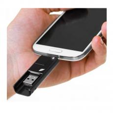 Флеш-накопитель Leef iBridge 3 Pendrive, Micro-USB, 32 Гб, чёрный, фото 3