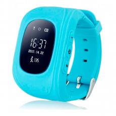 Детские часы-телефон Wonlex Baby Watch Q50, голубые, фото 1