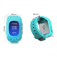 Детские часы-телефон Wonlex Baby Watch Q50, голубые, фото 2