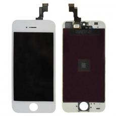 Дисплейный модуль для iPhone 5S, восстановленный оригинал, белый, фото 1