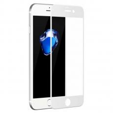 Защитное стекло 2,5D 9H для iPhone 6/6S Plus, белое, фото 1