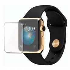 Защитное стекло 3D для Apple Watch 42 мм, прозрачное, фото 2