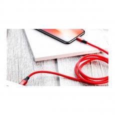 Кабель Baseus Yiven Series, с USB-C на Lightning, 1 метр, красный, фото 2