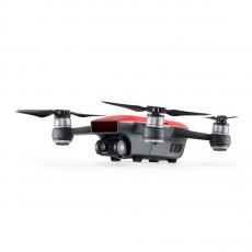 Квадрокоптер Spark + 2 доп. батареи, красный, фото 4
