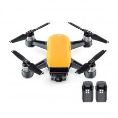 Квадрокоптер Spark + 2 доп. батареи, желтый, фото 1