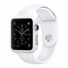 Клип-кейс Spigen для Apple Watch 38 mm Thin Fit, белый, фото 1