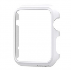 Клип-кейс Spigen для Apple Watch 38 mm Thin Fit, белый, фото 2