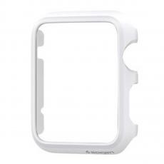 Клип-кейс Spigen для Apple Watch 38 mm Thin Fit, белый, фото 2