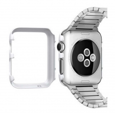 Клип-кейс Spigen для Apple Watch 38 mm Thin Fit, белый, фото 3