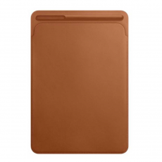 Кожаный чехол-футляр Apple для iPad Pro 10,5, золотисто-коричневый, фото 2
