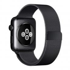 Миланский сетчатый браслет для Apple Watch 42 мм, чёрный, фото 2