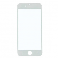 Переднее стекло для iPhone 6 Plus, класс А, белый, фото 1