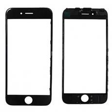 Переднее стекло с рамкой для iPhone 6 Plus, полный ремкомплект, холодное склеивание, оригинал, черный, фото 1