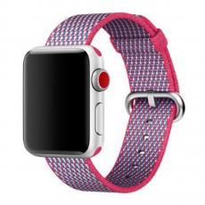 Ремешок из плетёного нейлона для Apple Watch, лесная ягода, фото 1