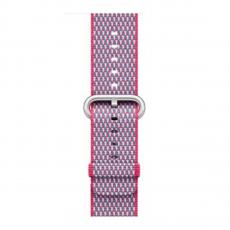 Ремешок из плетёного нейлона для Apple Watch, лесная ягода, фото 2