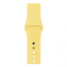 Ремешок Apple Pollen спортивный для Apple Watch 42 мм, желтый, фото 3
