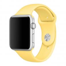 Ремешок Apple Pollen спортивный для Apple Watch 38 мм, желтый, фото 1