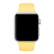 Ремешок Apple Pollen спортивный для Apple Watch 38 мм, желтый, фото 2
