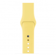 Ремешок Apple Pollen спортивный для Apple Watch 38 мм, желтый, фото 3