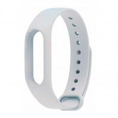 Сменный силиконовый ремешок для Хiaomi Mi Band 2, белый, фото 1