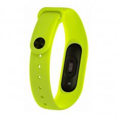 Сменный силиконовый ремешок для Хiaomi Mi Band 2, зеленый, фото 3
