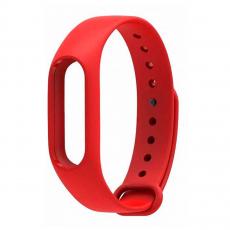 Сменный силиконовый ремешок для Хiaomi Mi Band 2, красный, фото 1