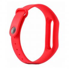 Сменный силиконовый ремешок для Хiaomi Mi Band 2, красный, фото 2