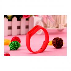 Сменный силиконовый ремешок для Хiaomi Mi Band 2, красный, фото 4
