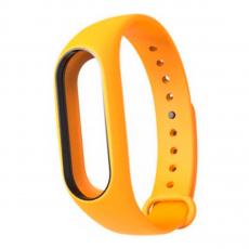 Сменный силиконовый ремешок для Хiaomi Mi Band 2, оранжевый, фото 1