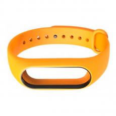Сменный силиконовый ремешок для Хiaomi Mi Band 2, оранжевый, фото 2
