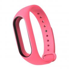 Сменный силиконовый ремешок для Хiaomi Mi Band 2, розовый, фото 1