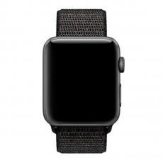 Спортивный браслет для Apple Watch 42 мм, черный, фото 2