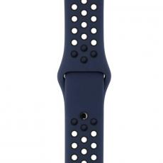 Спортивный ремешок Nike для Apple Watch 42 мм, S/M и M/L, обсидиан / чёрный, фото 3