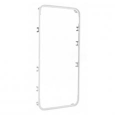 Средняя рамка с наклейками для iPhone 4, класс А, белый, фото 1