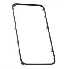 Средняя рамка с наклейками для iPhone 4, класс А, черный, фото 1