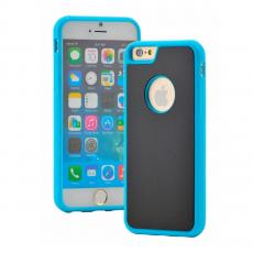 Чехол-накладка антигравитационный Sticks Magic для iPhone 7/8,  поликарбонат, синий / чёрный, фото 1