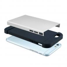 Чехол-накладка SGP Spigen Slim Armor для iPhone 6/6S, белый, фото 4