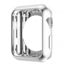 Чехол силиконовый для Apple Watch 38 mm, прозрачный, фото 1
